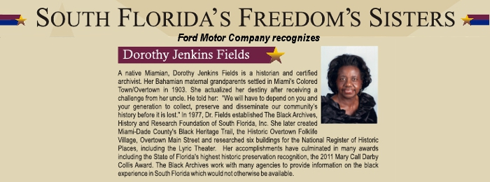 Ford Motor Company recognizes Freedom Sisters
